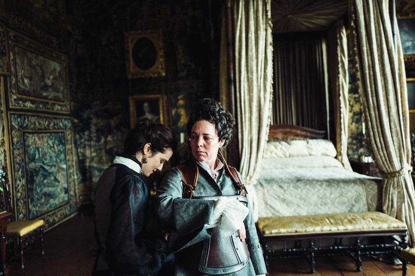 The Favourite. Rachel Weisz und Olivia Colman