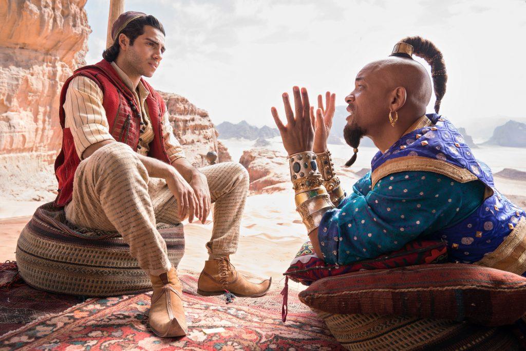 Aladdin (Mena Massoud) und Genie (Will Smith).
