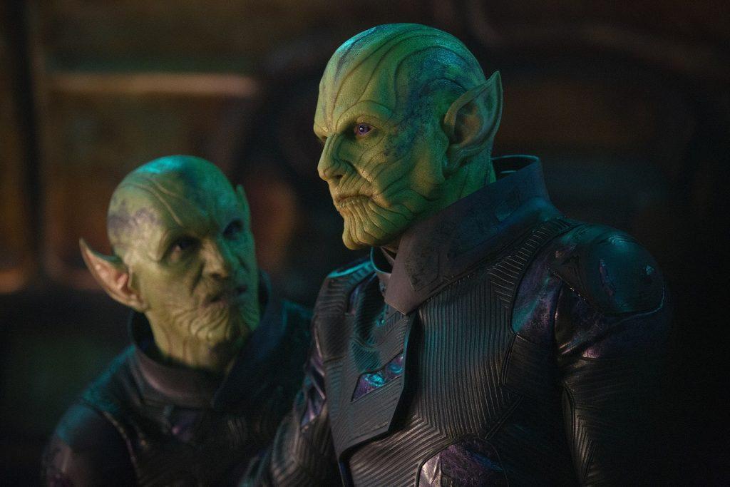Ben Mendelsohn als Skrull in Captain Marvel