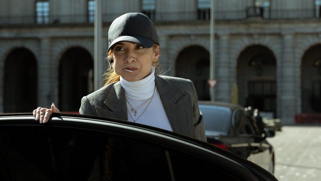 Inspectora Sierra in Haus des Geldes